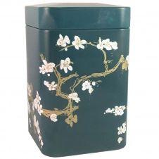 Petite boite métallique pour le thé contenance 100g