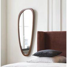 Miroir ovoïde en hêtre 60×141