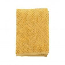 Drap de bain coton biologique 520gr/m²  Miel 70×140