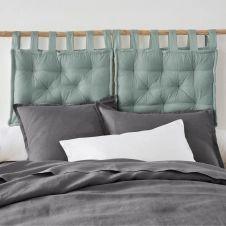 Tête de lit matelassée pur coton, Scenario