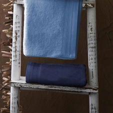 Drap de bain uni et coloré coton lavande 150×100