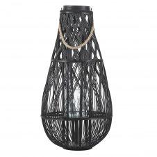 Lanterne noire 77 cm