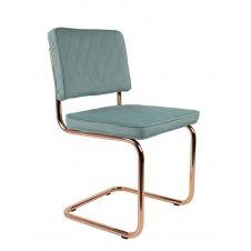 Chaise en tissu Vert Menthe