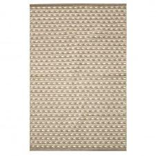 Tapis en coton et laine beige 90×150