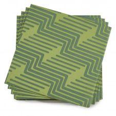 Serviette en papier gazon 40 x 40