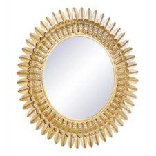 Miroir D.70 cm BOUTON D'OR Doré