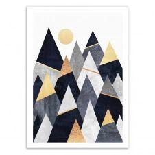 FANCY MOUNTAINS –   Affiche d'art 50 x 70 cm