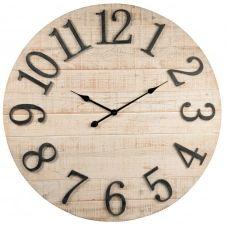 Horloge beige et noire D83