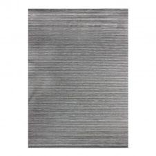 Tapis scintillant pour intérieur-extérieur argent 180×280