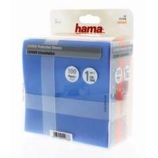 Boite à CD/DVD Hama Protection Pack CD/DVD 100 différ colori