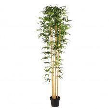 Bambou artificiel d'extérieur en pot
