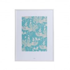 Affiche A3 imprimée guépards dans la jungle 30×40