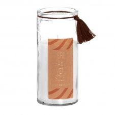 Bougie parfumée en verre