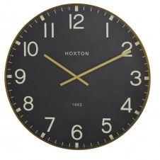 Horloge noire et dorée D74