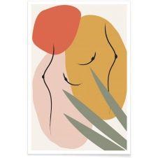 Affiche en Multicolore & Vert/20×30