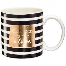 Mug cadeau c'est pas la mer à boire