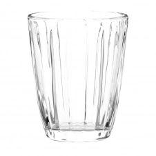 Gobelet en verre strié