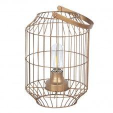 Lampe en métal transportable LED