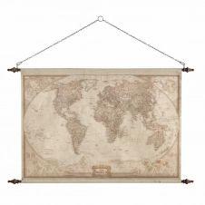 Déco murale carte du monde 117×129 EXPLORATEUR