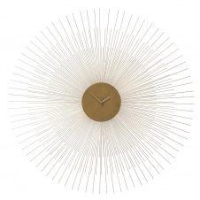 Horloge en métal doré D 95 cm CALLISTA