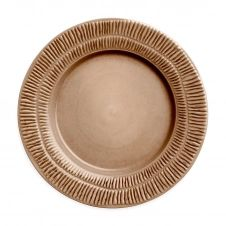 Assiette Stripes 28 cm Cinnamon