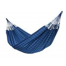 Hamac classique kingsize en tissu bleu marine