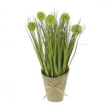 Fleurs artificielles en pot H36cm