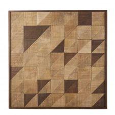 Déco murale patchwork 94×94