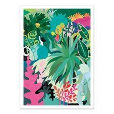 PLANT –  Affiche d'art 50 x 70 cm