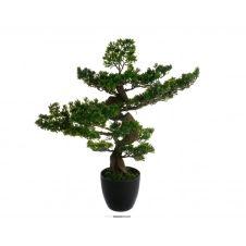 Plante artificielle H80 cm BONSAI Noir / Vert