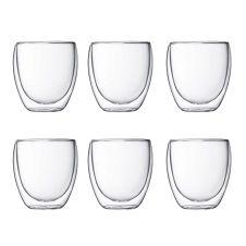 6 verres double paroi Pavina 25 CL 4558-10-12