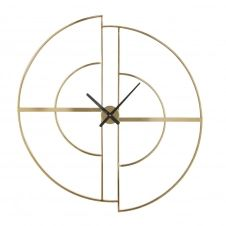 Horloge en métal doré 90×97
