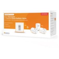 Thermostat connecté Netatmo Pack Thermostat Intelligent+3 Tetes ther