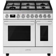 Piano de cuisson gaz Smeg CPF92GMWH