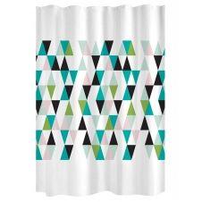 Rideau de douche tendance scandinave polyester multicolore x