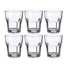Gobelets à eau ou liqueur en verre 29cl – Lot de 6