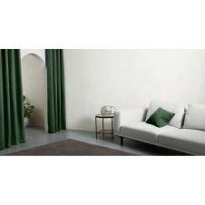 Marzia, paire de rideaux à œillets 135 x 260 cm, vert feuillage