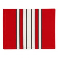 Set de table rouge 41×52