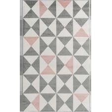 FORSA – Tapis géométrique rose 80x150cm