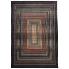 Tapis graphiquement durable multicolore 60×90