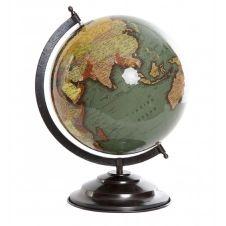 Globe terrestre vert D25cm