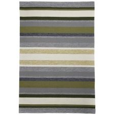 Tapis d'extérieur et intérieur très durable vert 160×230