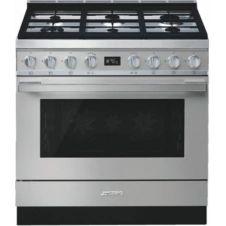 Piano de cuisson mixte Smeg CPF9GPX