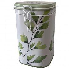 Boite métallique pour le thé