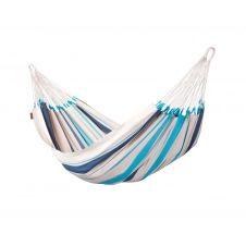 Hamac classique simple en coton bleu