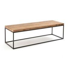 Table basse plateau orme recyclé, Orma