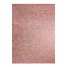 Tapis effet tweed pour intérieur et extérieur rouge 180×280