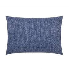Taie d'oreiller en bambou bleu 50 x 70