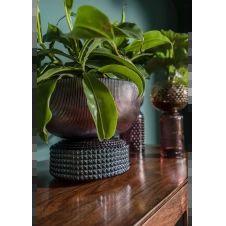 Vase Marvelous Duo rose bleu 21cm Kare Design