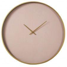 Horloge rose et doré mat D80